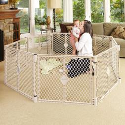 North States Superyard Indoor-Outdoor 8-Panel Play Yard: Saf