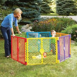 Toddleroo by North States Superyard Colorplay Multi-Color Pl