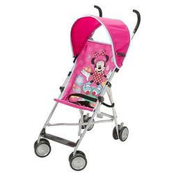 Disney Umbrella Stroller With Canopy - All About Minnie Pink