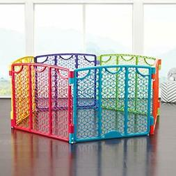 Evenflo Versatile Play Space, Multi Color Baby Gate Pet Port