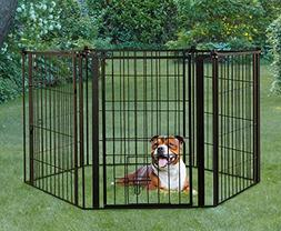 Carlson Pet Weather Resistant 144-Inch Wide Pet Gate and Pen