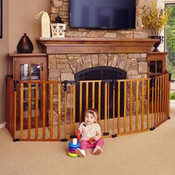"""Wood Superyard"""" by North States: Creates an extra-wide gate"""