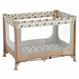 zodiak portable play yard coffee blue